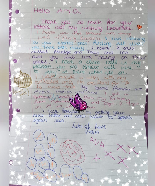 A Perfectly Written Letter From Ava