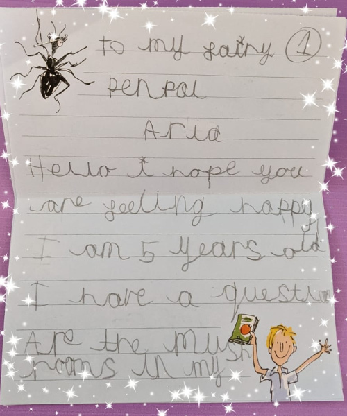 An Amazing Letter From One Of Our Fantastic Members